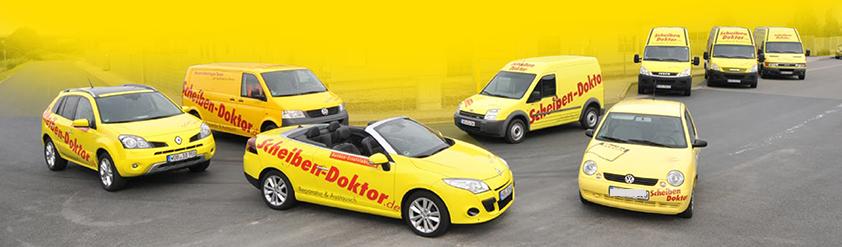 Fuhrpark Scheibendoktor - mobiler Service, Ersatzwagen