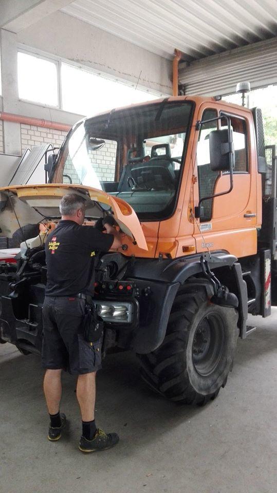 Frontscheibe-Sonderfahrzeug